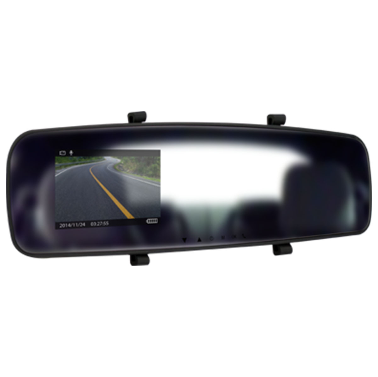 Car DVR Rear Mirror, 720p/1080p, Car DVR, 5Mp, TFT Panel, AVI,