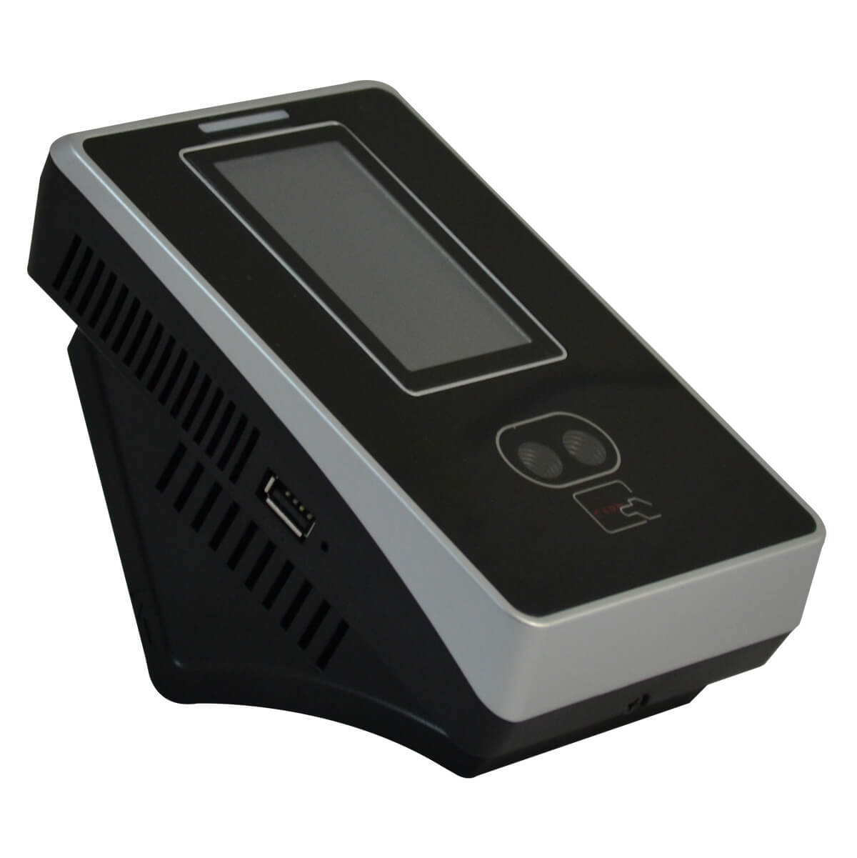 Card reader, with facial, RFID and PIN recognition mode