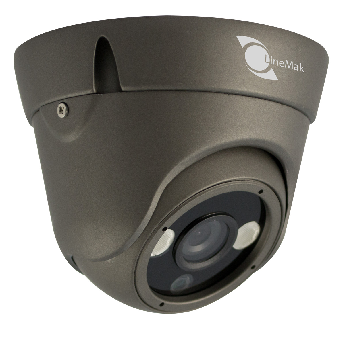Vandalproof Dome camera, HD Sensor, 800TVL, 3.6mm lens, 2 LED Array