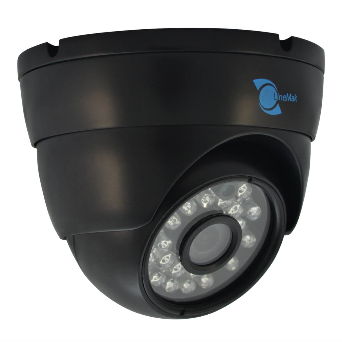 Dome camera, SONY CCD Sensor, 700TVL, 3.6mm lens, 24 LEDs, 65ft IR UTC