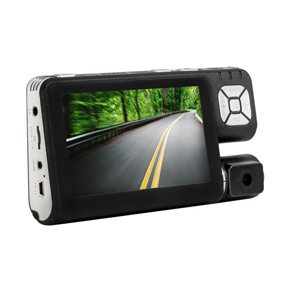 Portable DVR Cars, 1Mp CMOS Sensor, TFT-LCD Display, MJPG, G-Sensor