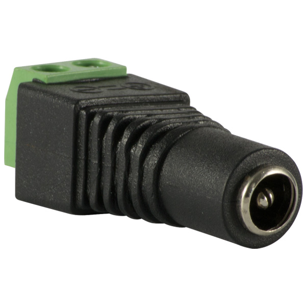 Plug connector power supply female