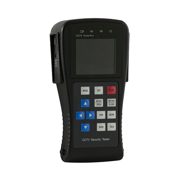 Video tester with LCD color display for Security Cameras.