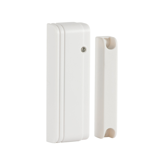 Wireless magnetic contact for doors