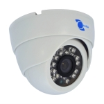 dome camera, sensor 1/3 cmos, 800tvl, 6mm, 23pcs leds.