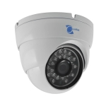 dome camera, sony ccd sensor 700tvl, 3.6mm lens, 24 leds, 65ft ir, utc