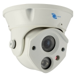 Vandalproof Dome camera, SONY CCD Sensor 700TVL, 6mm lens, 1 LED Arra