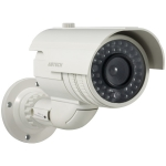 Dummy Bullet Camera for Outdoor. Operates with batteries, ABS material