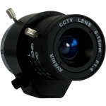Varifocal lens auto-iris for box type cameras