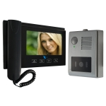 Video intercom system with LCD screen 7in and camera CMOS Sensor 1/4